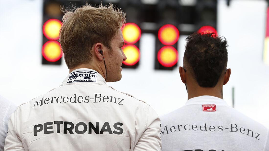 Rosberg & Hamilton - GP Deutschland 2016