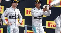 Rosberg & Hamilton - GP Italien 2014