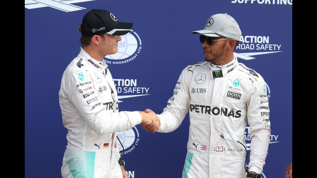 Rosberg & Hamilton - GP Italien 2016