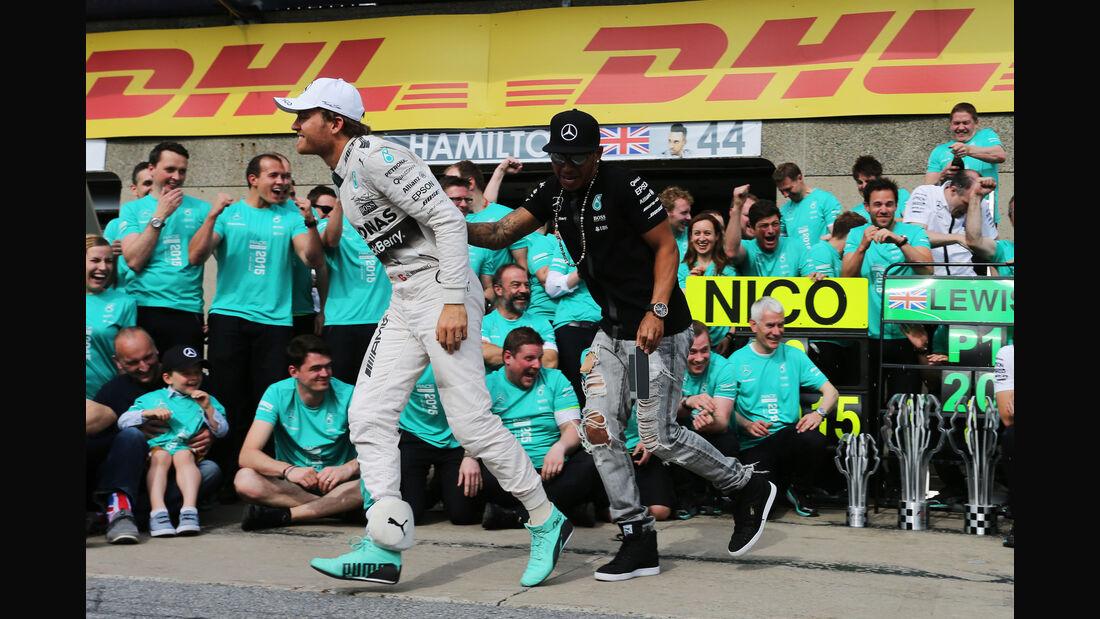 Rosberg & Hamilton - GP Kanada 2015