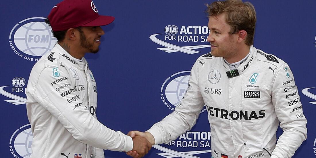 Rosberg & Hamilton - GP Kanada 2016