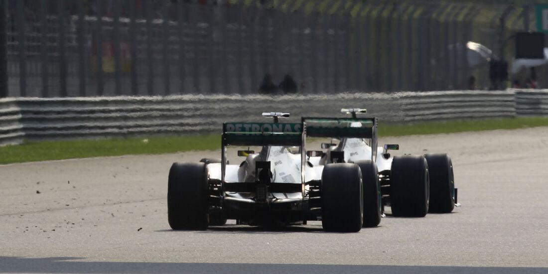 Rosberg & Hamilton GP Malaysia 2013