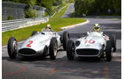 Rosberg & Hamilton - Mercedes - Nordschleifen-Aktion - GP Deutschland 2013