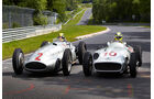 Rosberg & Hamilton - Silberpfeil - Nordschleife 2013