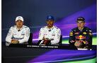 Rosberg - Hamilton - Verstappen - GP England - Silverstone - Qualifying - Samstag - 9.7.2016