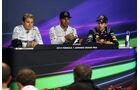 Rosberg, Hamilton & Vettel - GP Japan 2014