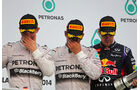 Rosberg, Hamilton & Vettel - GP Malaysia 2014