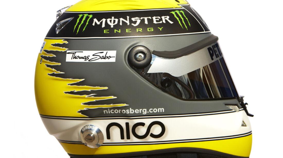 Rosberg Helm 2011