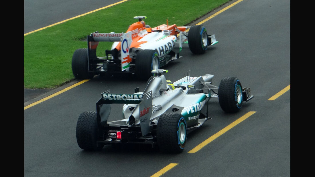 Rosberg & Hülkenberg - GP Australien - Melbourne - 16. März 2012