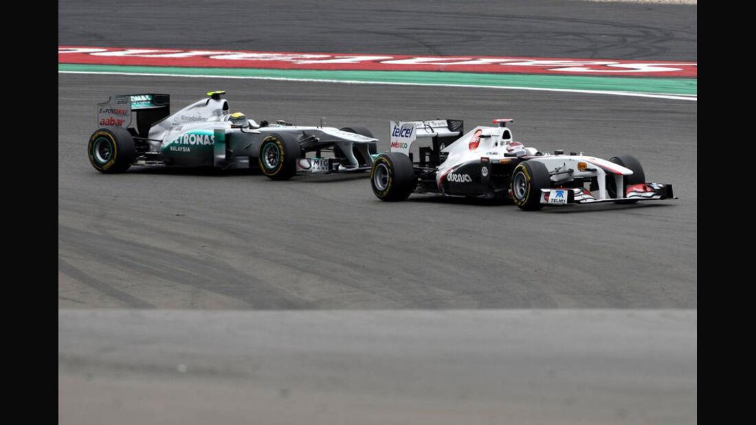 Rosberg Kobayashi GP Deutschland 2011