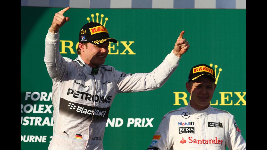 Rosberg & Magnussen - GP Australien 2014