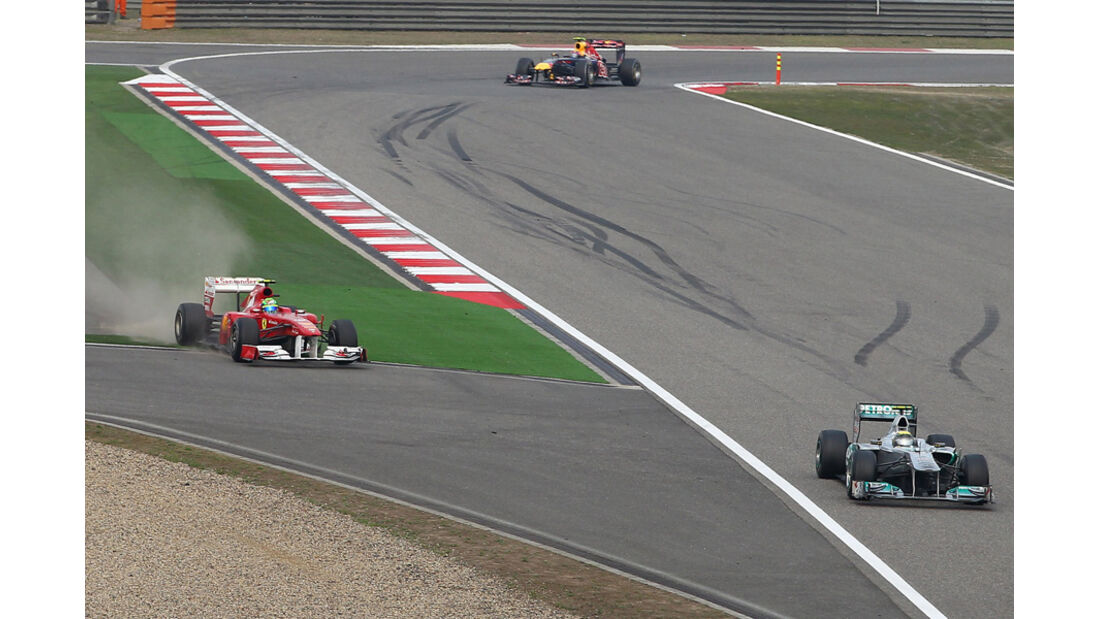 Rosberg Massa GP China 2011