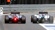 Rosberg & Massa - GP England 2015