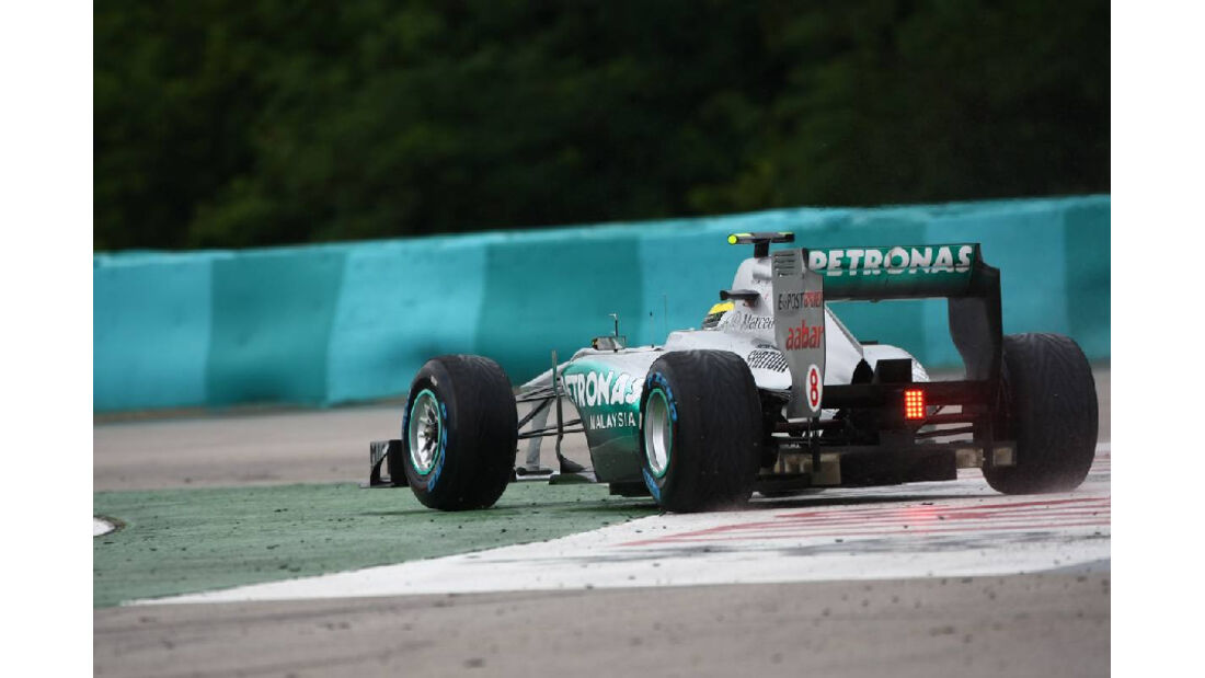 Rosberg - Noten - GP Ungarn - Formel 1 - 31.7.2011