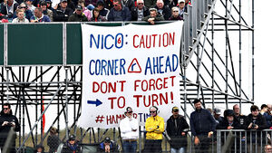 Rosberg-Plakat - GP England 2016