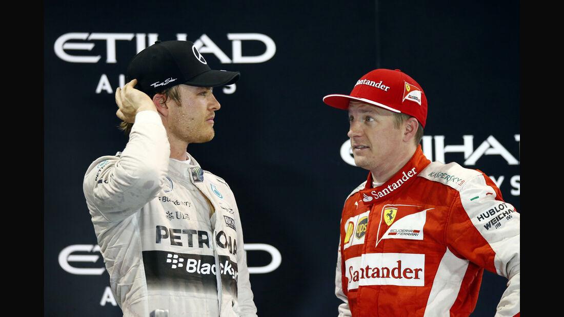 Rosberg & Räikkönen - GP Abu Dhabi 2015