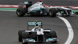 Rosberg Schumacher GP Deutschland 2011