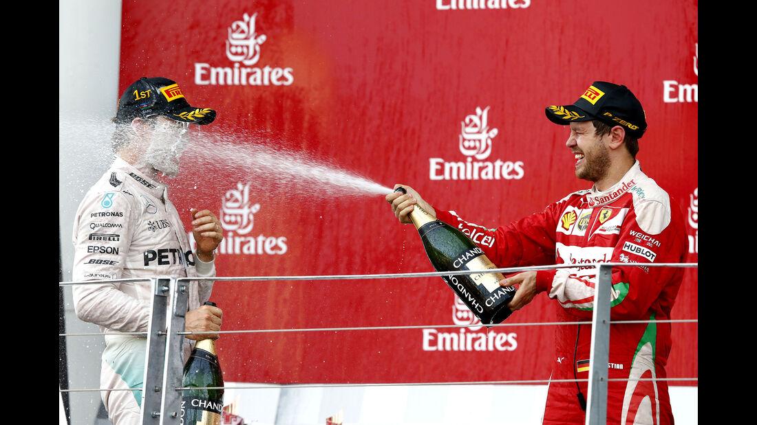 Rosberg & Vettel - GP Aserbaidschan - Formel 1 - 2016