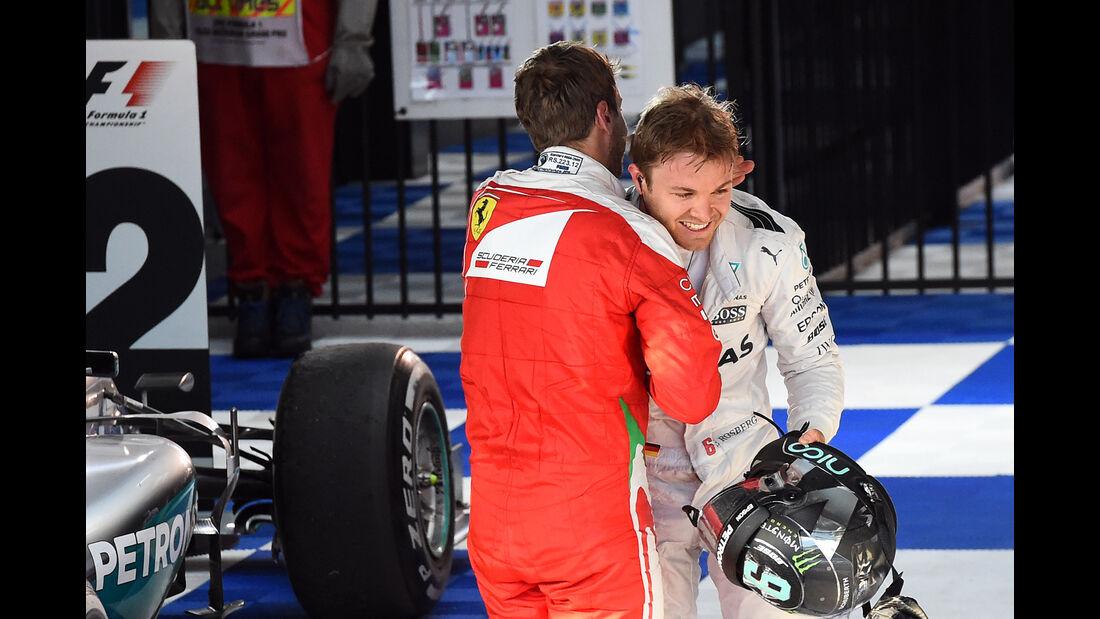 Rosberg & Vettel - GP Australien 2016