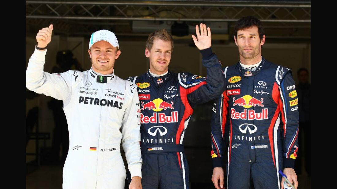 Rosberg Vettel Webber GP Türkei 2011