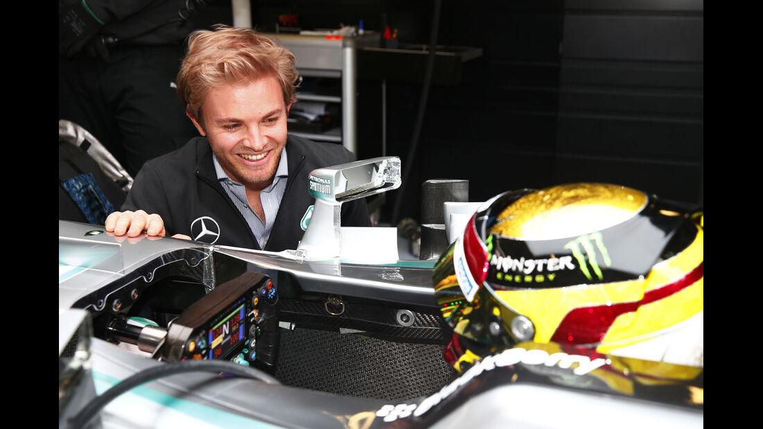 Rosberg & Wehrlein - F1-Test Barcelona - 2015