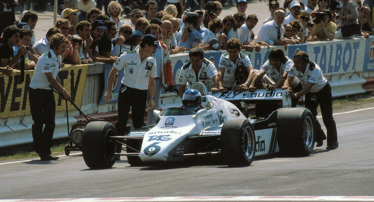 Rosberg Williams Brands hatch 1982