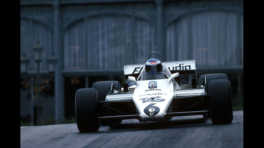 Rosberg Williams Monaco 1982