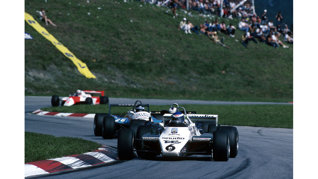 Rosberg Williams Zeltweg 1982