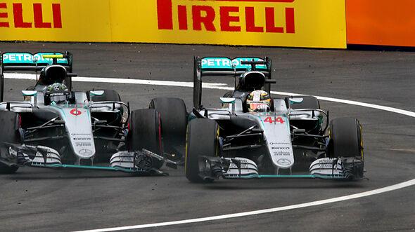 Rosberg vs. Hamilton - GP Österreich 2016