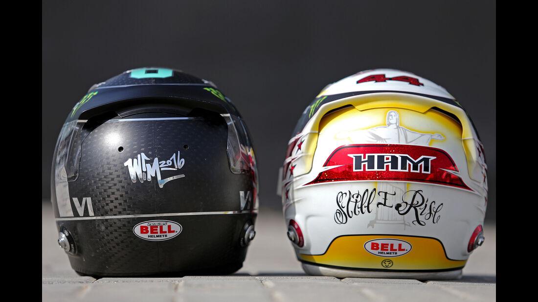 Rosberg vs. Hamilton - Mercedes - Formel 1 - GP Abu Dhabi - 25. November 2016