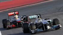 Rosberg vs. Hamilton