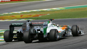 Rosberg vs. Sutil GP Brasilien 2011