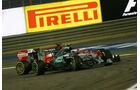 Rosberg vs. Vettel - GP Bahrain 2015
