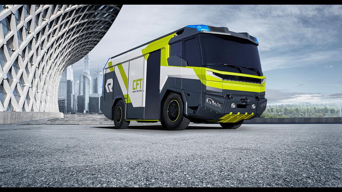 Rosenbauer Concept Fire Truck