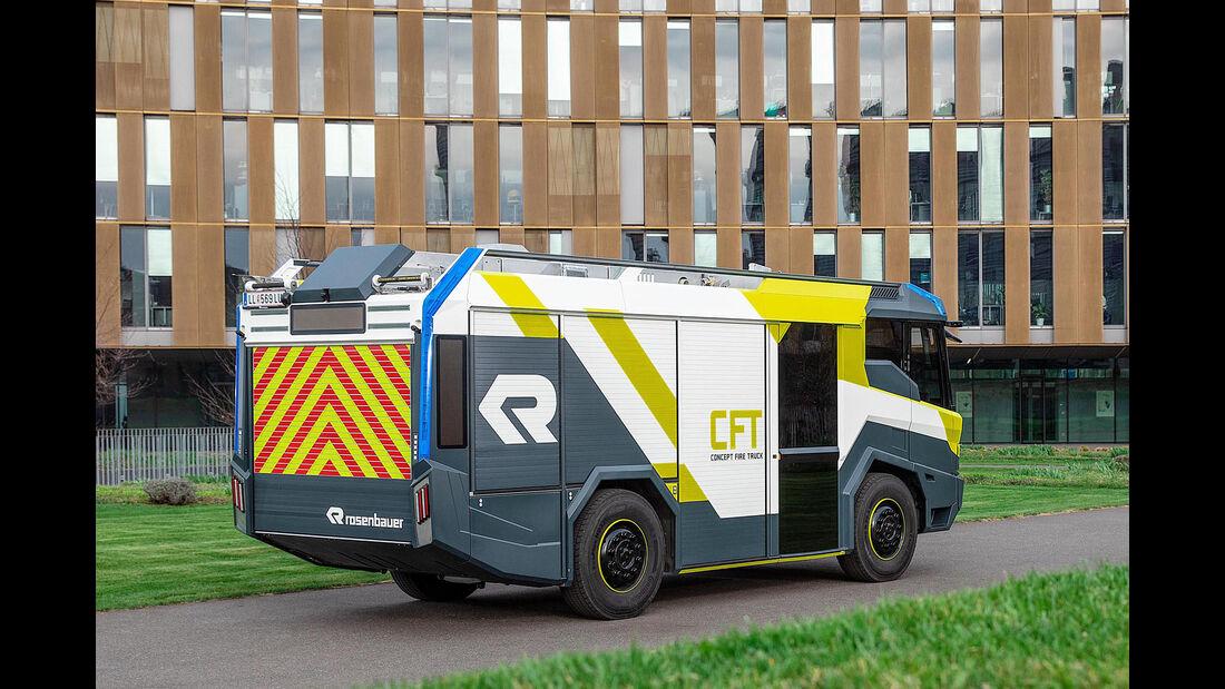 Rosenbauer Concept Fire Truck Hybrid Lšschfahrzeug