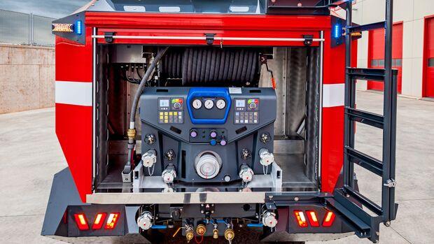 Rosenbauer Feuerwehrfahrzeug TLF FFFT 3500