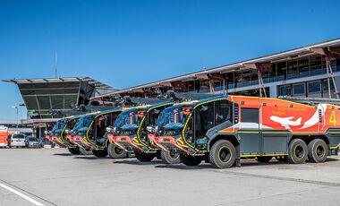 Rosenbauer Panther Flughafen-Feuerwehr Lšschfahrzeug
