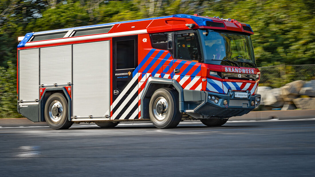Rosenbauer RT Hybrid Feuerwehr