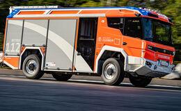 Rosenbauer RT Hybrid Feuerwehr Einsatzfahrzeug