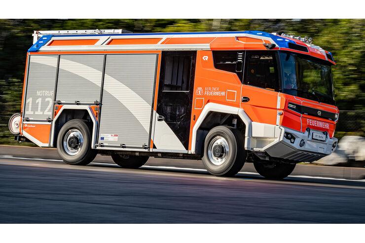 Neues Einsatzfahrzeug Rosenbauer RT (2020): Schneller als die Feuerwehr bisher