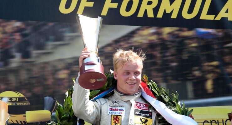Rosenqvist - Masters of Formula 3 2013