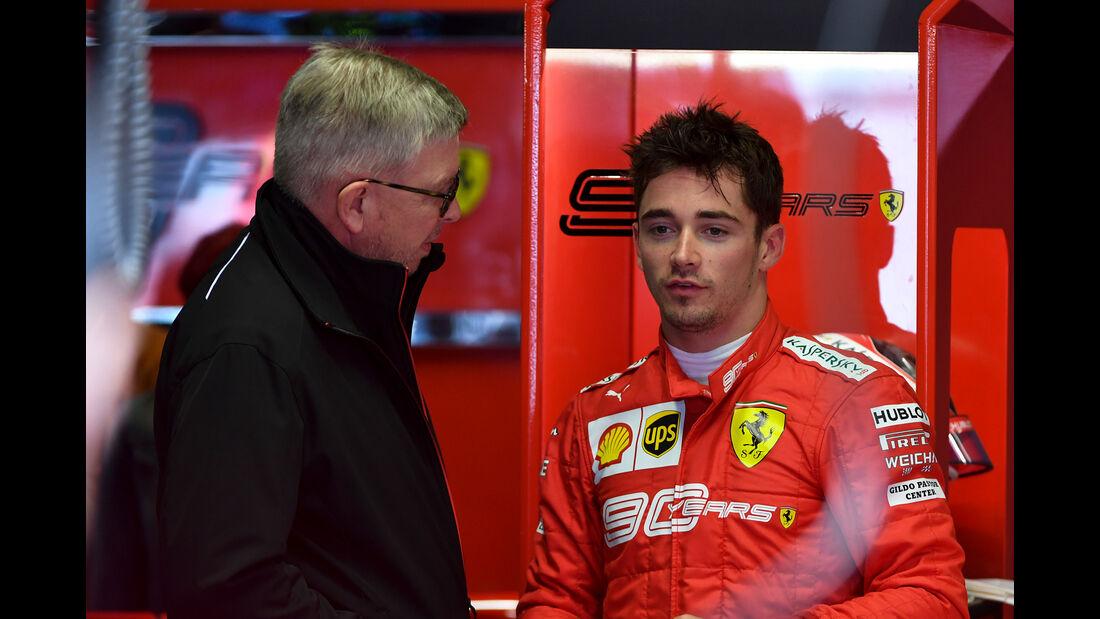 Ross Brawn & Charles Leclerc - Formel 1 - GP Italien - Monza - 6. September 2019