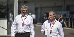 Ross Brawn & Chase Carey - GP Japan 2017