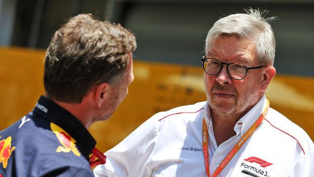 Ross Brawn & Christian Horner - F1 - 2019