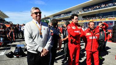 Ross Brawn - F1 - Mattia Binotto - Ferrari