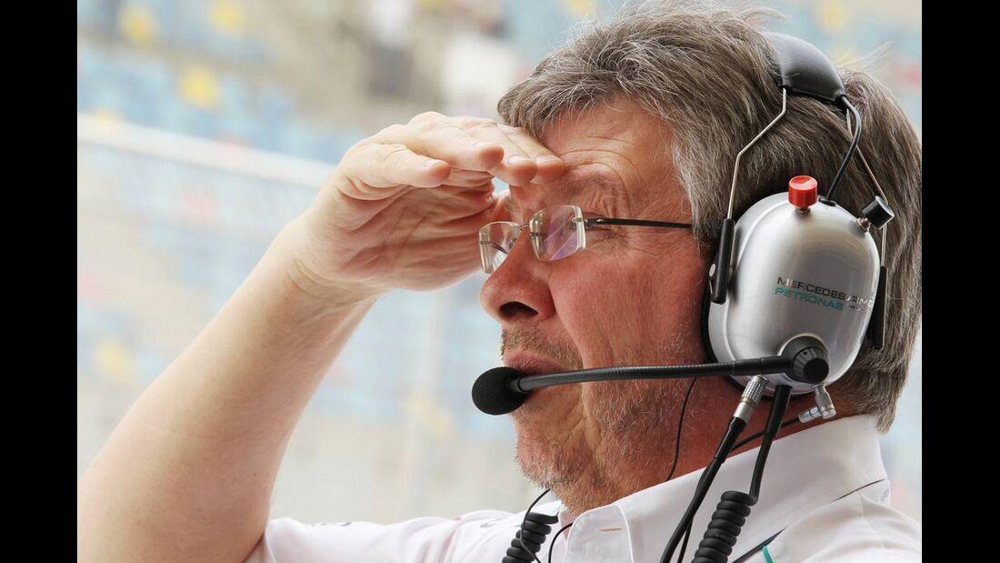 Ross Brawn - Formel 1 - GP Bahrain - 21. April 2012