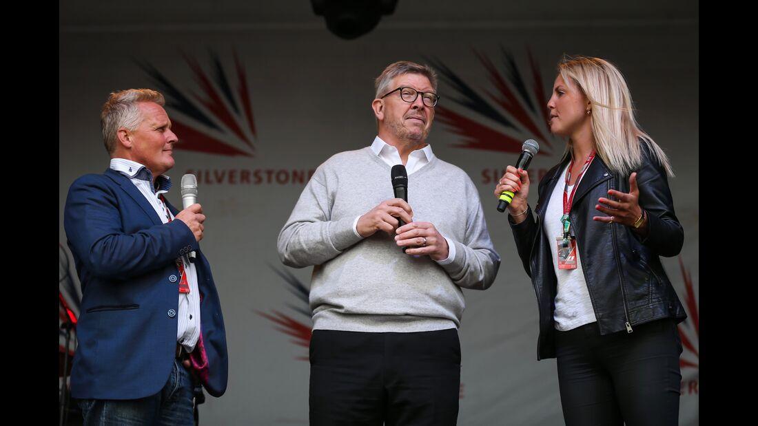 Ross Brawn - Formel 1 - GP England - 14. Juli 2017