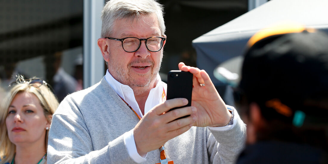Ross Brawn - Formel 1 - GP Kanada 2018