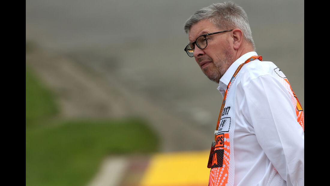 Ross Brawn - GP Belgien - Spa-Francorchamps - Formel 1 - 25. August 2017