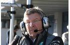 Ross Brawn Jerez Test F1 2013